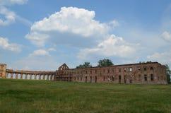 Ruzhansky palace Ruzhanskі Palace , an architectural monument of the XVII century Stock Photos