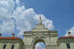Ruzhansky-Palast RuzhanskÑ-Palast, ein Architekturmonument des Jahrhunderts XVII lizenzfreie stockbilder