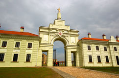Ruzhany Palace in Belarus. Stock Image