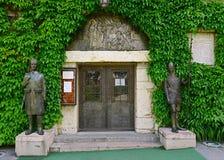 Ruzicakerk, de Vesting van Belgrado, Belgrado, Servië stock foto
