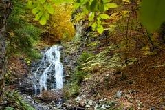 Ruzomberok - Cutkovska Valley, great view of Jamisne watterfall in Cutkovska valley. Ruzomberok - Cutkovska Valley, great view of Jamisne watterfall. Forest stock image