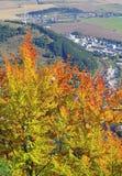 Ruzomberok from hill Cebrat, Slovakia Royalty Free Stock Images