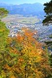 Ruzomberok from hill Cebrat, Slovakia Stock Photo