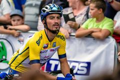 Julian Alaphilippe at Tour de Slovakia 2018 Royalty Free Stock Photography