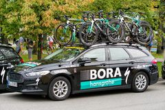 Team Bora Hansgrohe at Tour de Slovakia Royalty Free Stock Images