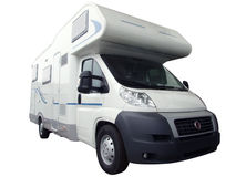rv卡车 免版税库存照片