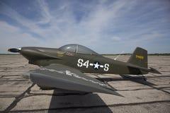 RV-4回家被制造的航空器 免版税库存照片