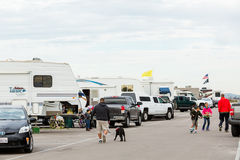 RV camping Stock Images