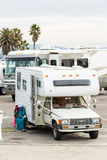 RV camping Royalty Free Stock Images