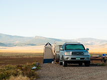 RV Camping Stock Photography