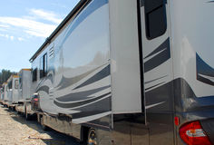Rv and Camping Show Royalty Free Stock Photos