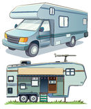 RV Car Royalty Free Stock Photo