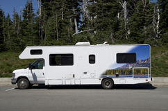 RV car Royalty Free Stock Image