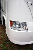 RV Closeup. On Front Light royalty free stock photos