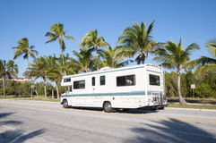 RV in Florida Stock Image
