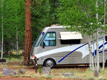 RV at 9000 Ft Royalty Free Stock Photography