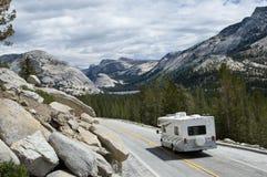 RV In Yosemite Royalty Free Stock Photos