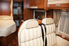 RV Interior Royalty Free Stock Photos