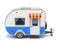 Rv-kampeerautoaanhangwagen Stock Foto