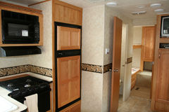 Rv Motorhome Photo stock