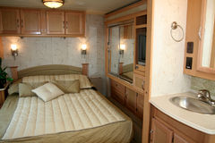 RV Motorhome. Camper Royalty Free Stock Image