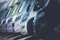 RV Motorhomes przemysł Fotografia Stock