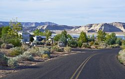RV Park in Arizona Stock Photos