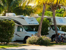 RV Park Stock Image
