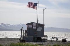 RV park in Homer, Alaska Royalty Free Stock Photo