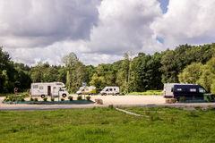 RV park Royalty Free Stock Images