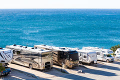 RV Park Royalty Free Stock Photo