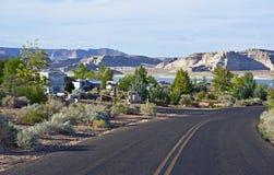 RV park w Arizona Zdjęcia Stock