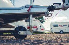 RV parking magazyn zdjęcie stock