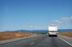 RV roadtrip Royalty Free Stock Photography