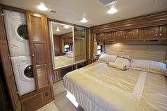 RV sypialnia zdjęcia stock