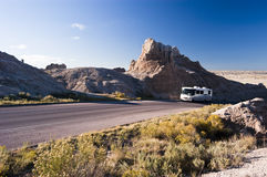 RV travel Royalty Free Stock Photo