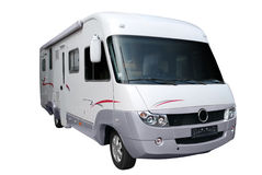 Rv truck Stock Image