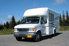 RV vacation Stock Image