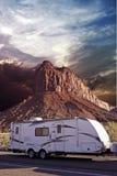 RV w Canyonlands Zdjęcie Royalty Free