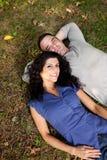 Rêve de couples Photo libre de droits
