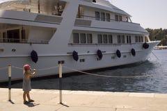 Rêver de la navigation Photos stock