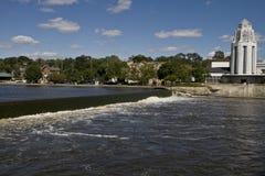 rävflod Arkivbilder