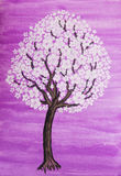 Árvore branca na flor Foto de Stock Royalty Free