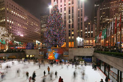 Árvore Center de Rockefeller Imagens de Stock Royalty Free