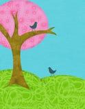 Árvore da colagem Imagens de Stock