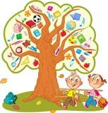 Árvore da escola Fotografia de Stock