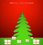 ?rvore de Natal Fotografia de Stock Royalty Free
