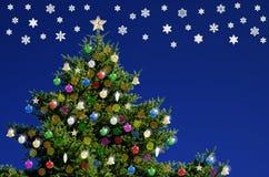 ?rvore de Natal Foto de Stock Royalty Free