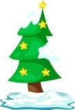 ?rvore de Natal Foto de Stock