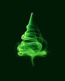 Árvore de Natal abstrata Fotos de Stock Royalty Free